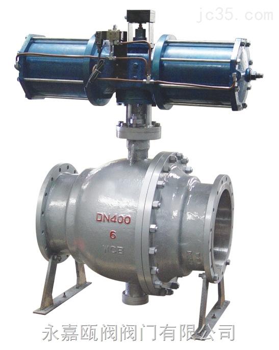 气动卸灰球阀-Q647MF气动卸灰球阀厂