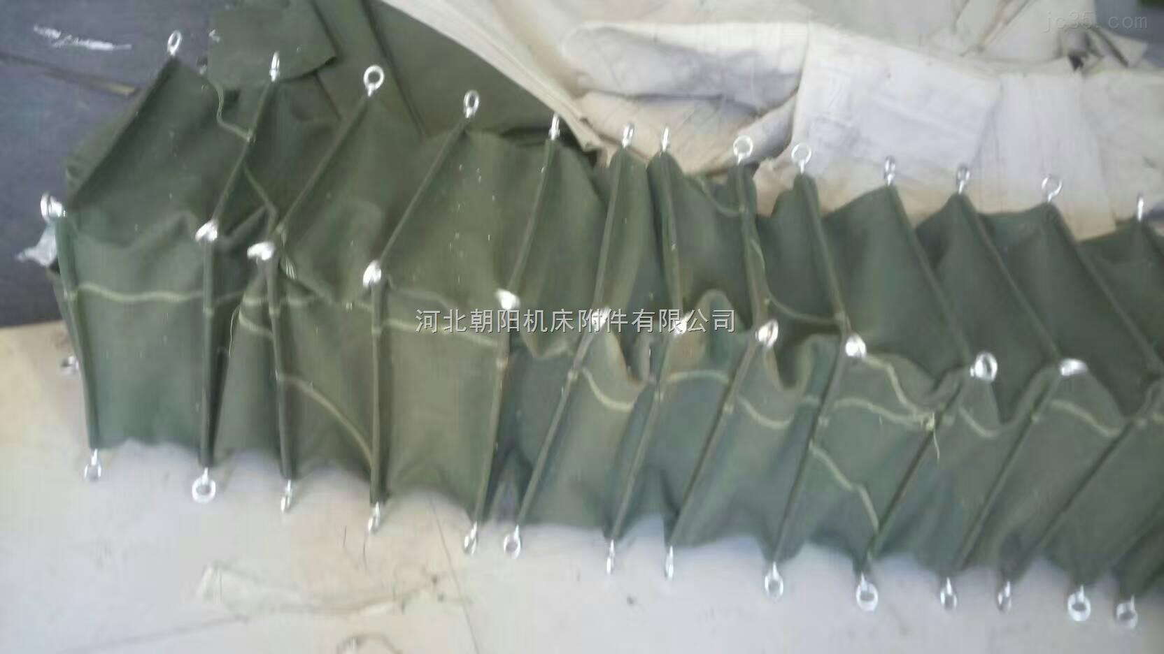 帆布水泥熟料机除尘软风管软连接
