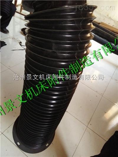 耐酸碱橡胶布油缸伸缩保护套推荐