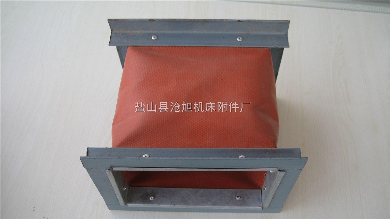 专业生产耐高温帆布伸缩布筒