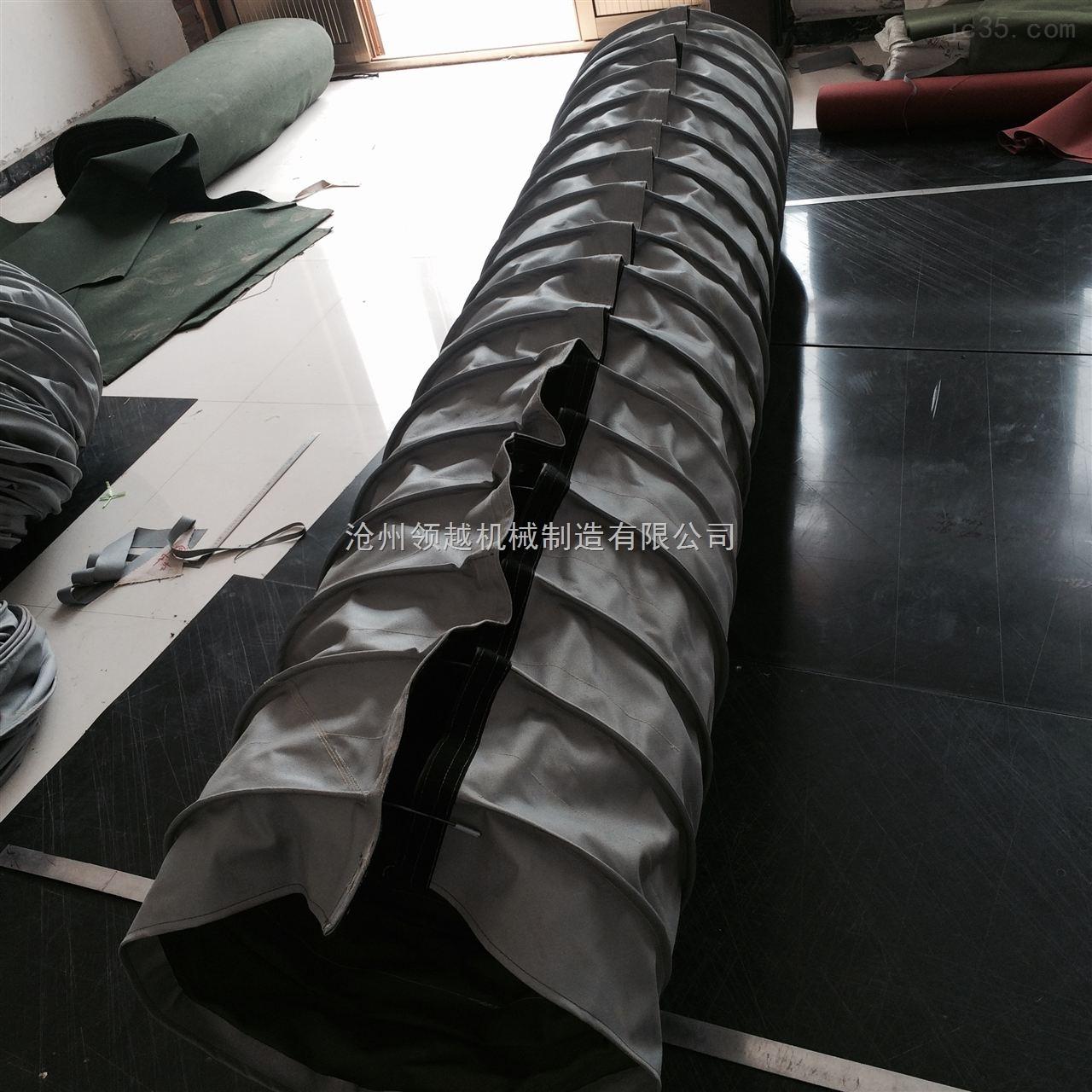 粘扣式伸缩油缸防护罩 粘扣式耐温油缸防护套