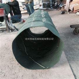 水泥粉末输送软连接  加厚耐磨帆布布袋厂家