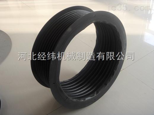 专业定制橡胶复合布油缸伸缩防护罩