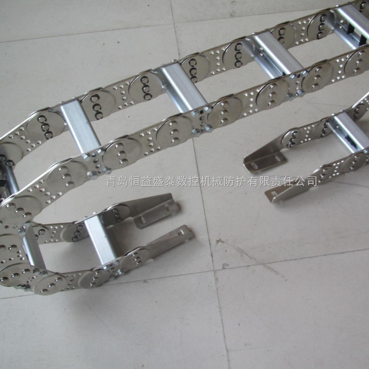青岛恒益盛泰钢制拖链经久耐用使用寿命长