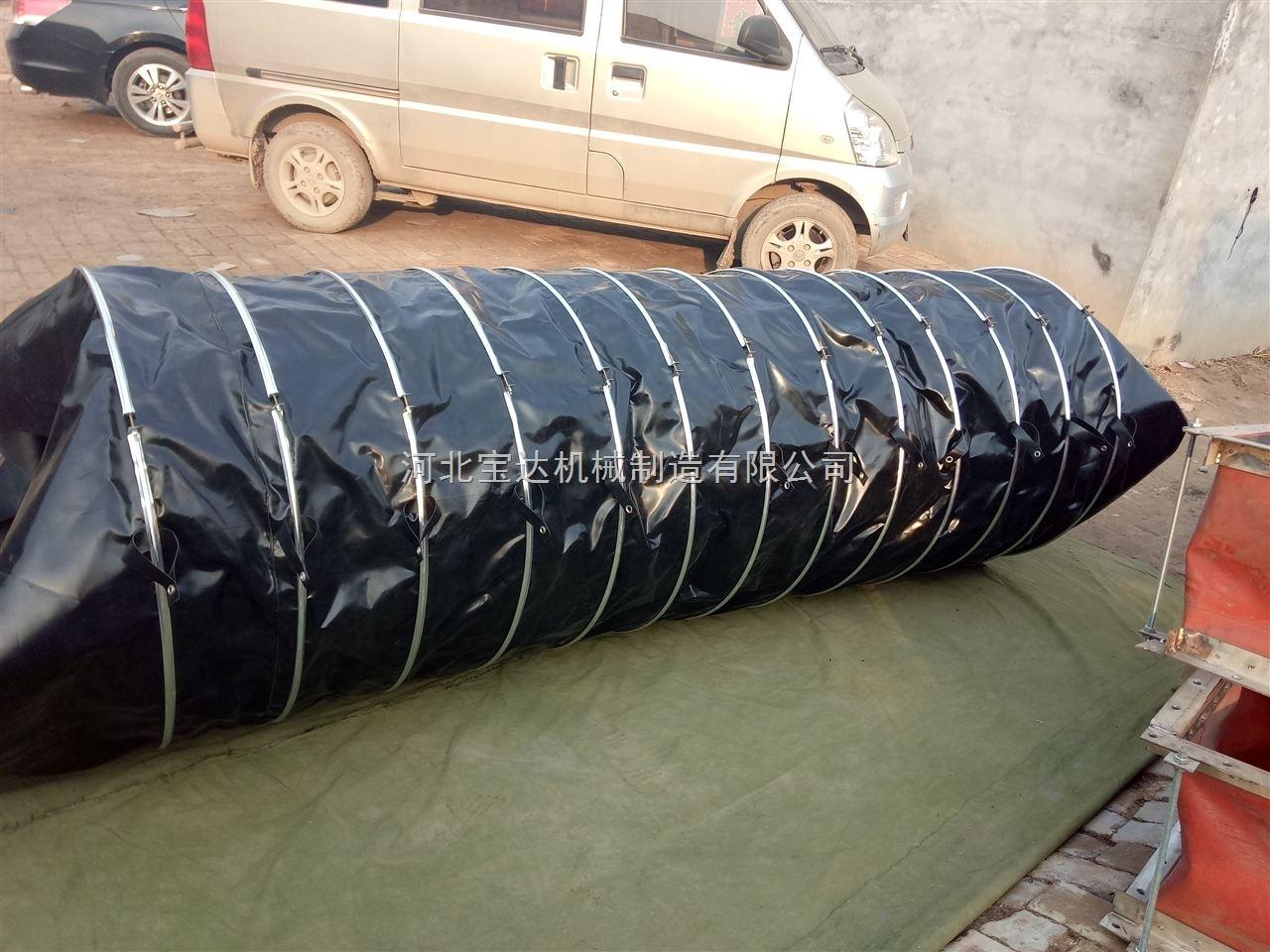 加厚硅胶吊环式通风阻燃伸缩软连接