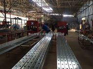 九江大型集团联塑PVC排水管自动定位打孔机械