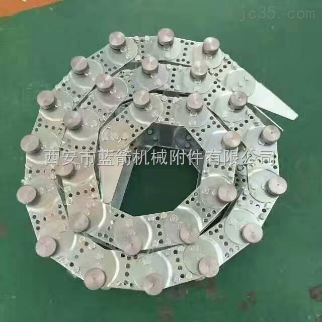 电缆防护钢铝拖链