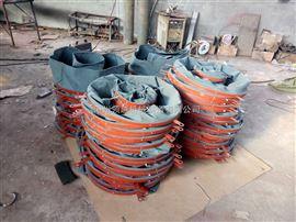 耐酸碱帆布水泥下料口伸缩布袋规格