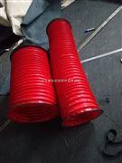 耐高温硅钛布通风换气软连接