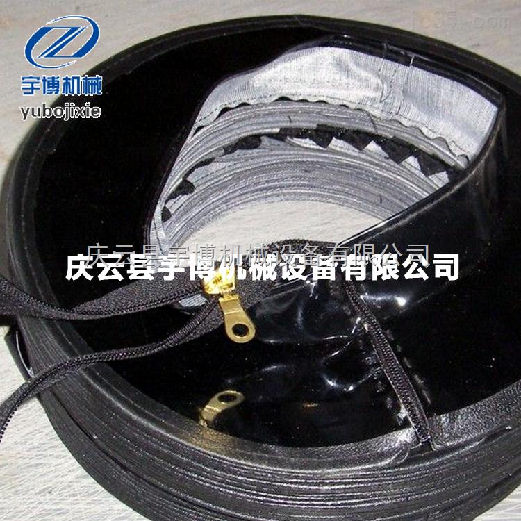 郑州耐高温拉链式防护罩 开封开口油缸保护套 许昌光杠防尘罩