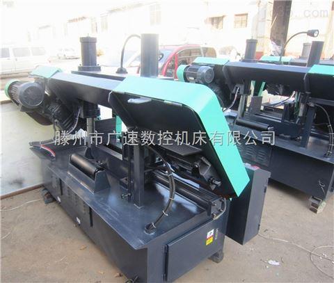 双立柱液压机械GB4250金属带锯床