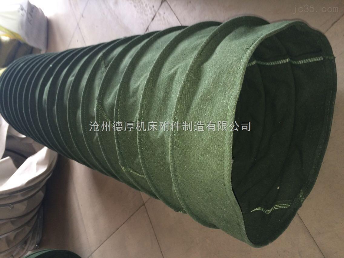 定制水泥耐磨帆布软连接