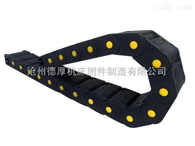 25*35物流分拣机用穿线塑料拖链