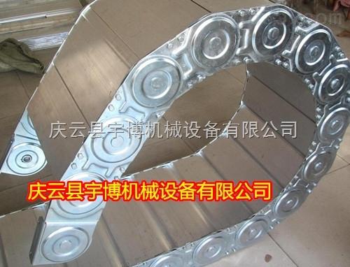 TLG钢制拖链 钢厂用拖链 油管保护拖链 电缆桥式拖链