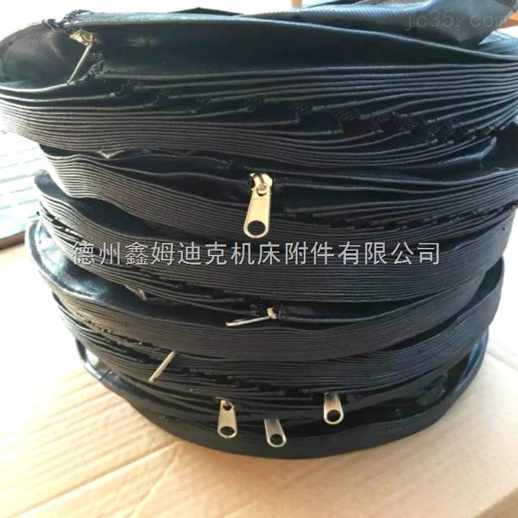 机床圆形丝杠防护罩