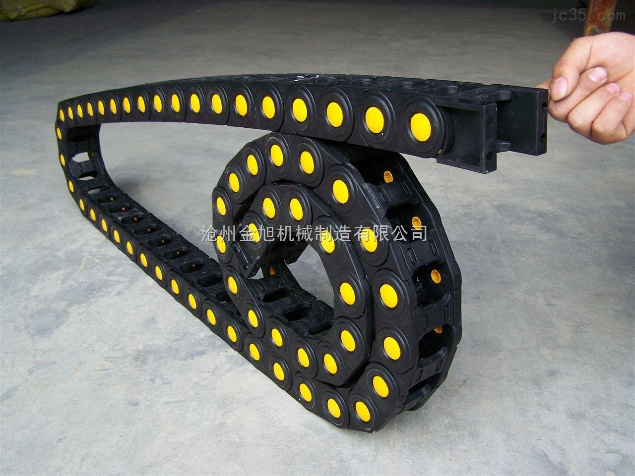 银川55*175塑料电缆拖链