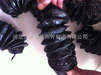 精确设计加工圆形缝制式油缸防护罩拉链式油缸气缸活塞杆防尘罩