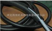 北京城建阻燃尼龙穿线波纹管PA 车间护线缆阻燃黑色波纹管-北京经销