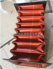 訂做口徑350硅膠防火伸縮軟連接