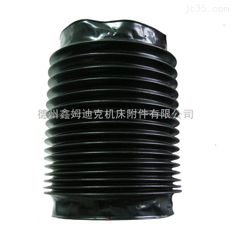 机械伸缩式圆型防尘罩销售厂家