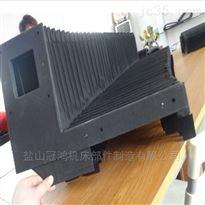 定做jiang西龙门铣风琴式伸缩防hu罩