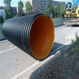 四川聚乙烯钢带增强螺旋波纹管道厂家