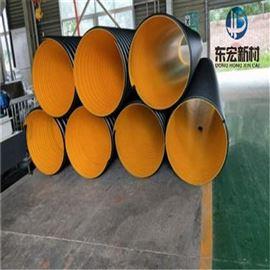 大口径HDPE钢带螺旋波纹管厂家直销