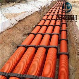 供应DN160mmMPP电力电缆单壁波纹管价格