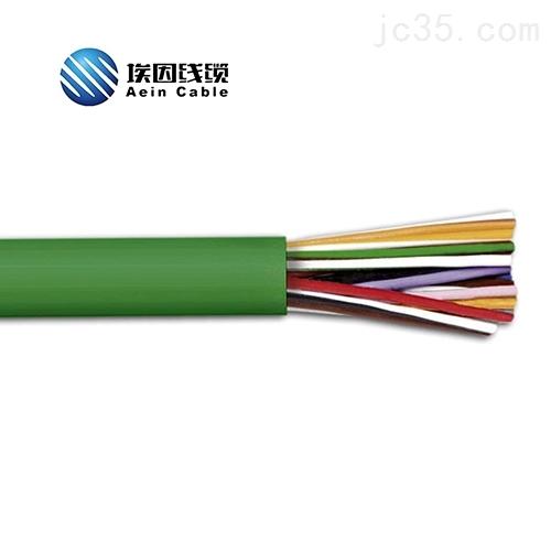 埃因CE数据电缆低烟无卤LiHH分色打点