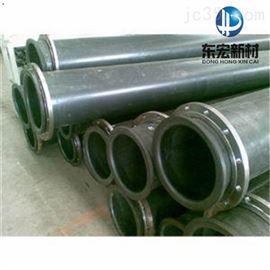 DN250四川成都超高分子量聚乙烯耐磨管道,几米