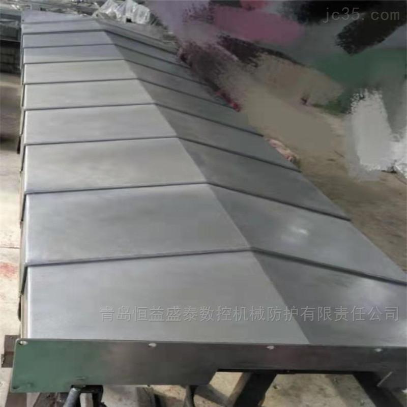 上海供应维修数控机床钢板导轨防护罩