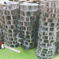 耐冲击桥式钢铝拖链用在工程上