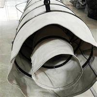 销售排气耐温帆布伸缩除尘软连接厂家
