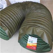 帆布鋼絲骨架耐溫除塵伸縮軟管報價