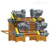 双主轴四刀塔车削中心光机