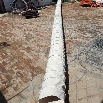 厂家定制伸缩式帆布水泥输送布袋