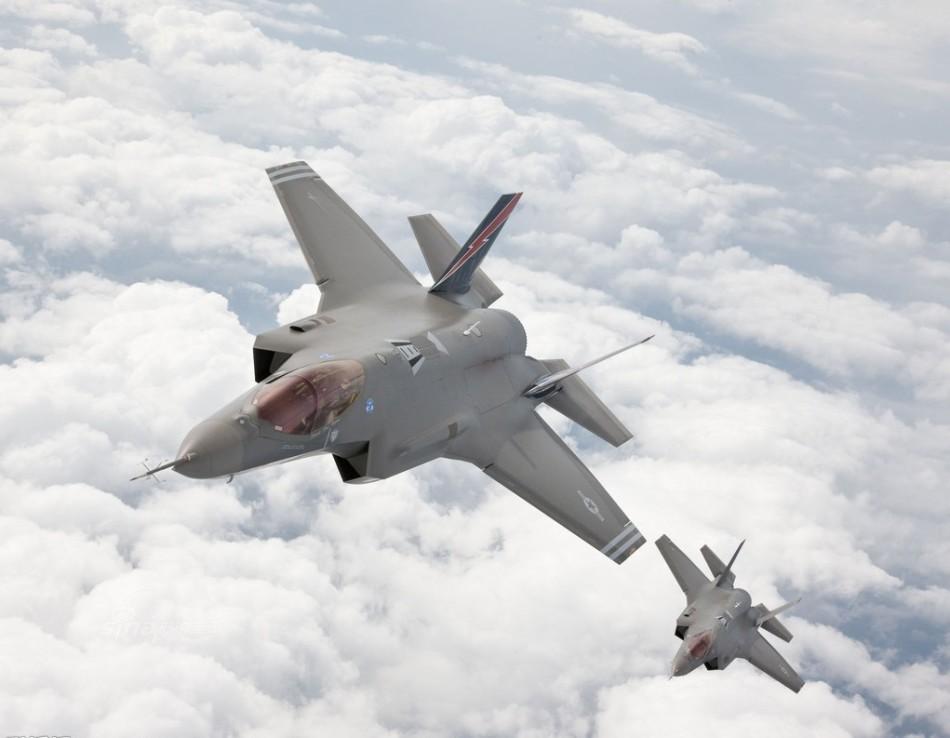 无头版F35出现!中国新型超音速隐身无人战机
