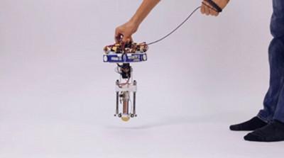 迪士尼研究中心造出单足跳跃机器人 造型蠢萌