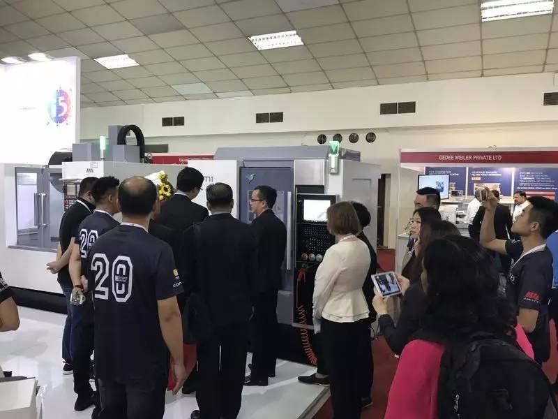 沈阳机床携i5智能机床亮相马来西亚国际机床展