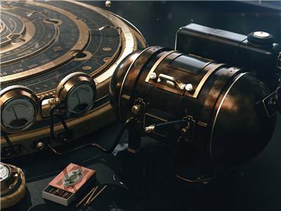 无法用语言形容的工业之美 看一眼就中毒:概念蒸汽表