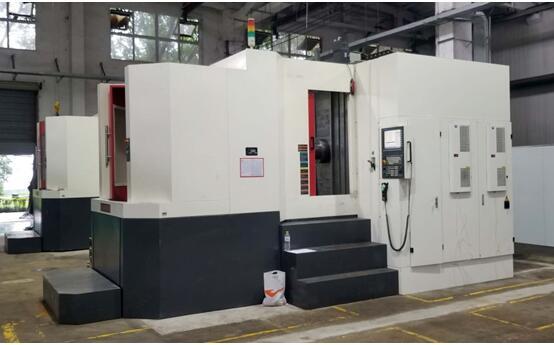 华中数控与北京工研精机股份有限公司合作生产的四轴卧式加工中心应用于汽车零部件制造领域