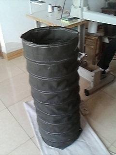 耐拉帆布水泥输送软连接产品图