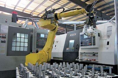 工业机器人与数控机床融合应用