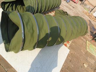 顆粒輸送耐磨帆布軟連接產品圖