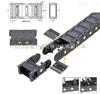 H30系列桥式/全封闭型桥式工程拖链,工程塑料拖链,全封闭型下开盖式拖链